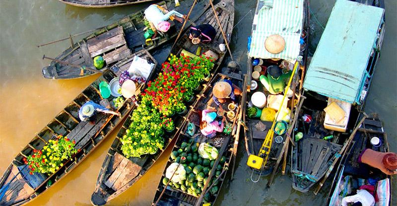Saigon - Mekong delta - Vinh Long - Cai Be