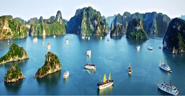 Image result for Hanoi to Halong Bay