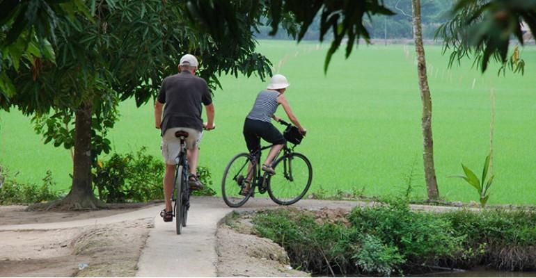 Biking Mekong